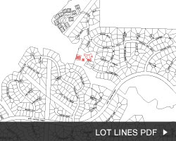 Oxxford Hunt Map Lot Lines