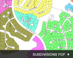 Oxxford Hunt Map Subdivisions